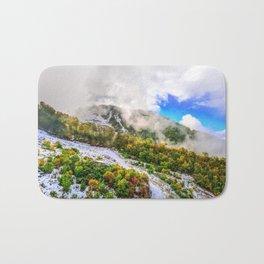 Autumn in Mountains Bath Mat