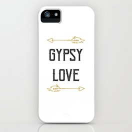 Gypsy Love iPhone Case