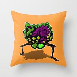 brokoli Throw Pillow
