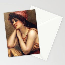 """Luis Ricardo Falero """"A moment's pause"""" Stationery Cards"""