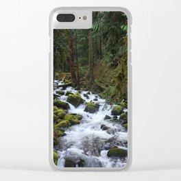 Multnomah Creek Clear iPhone Case