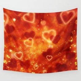 Herz an Herz Wall Tapestry