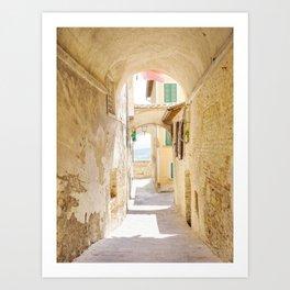 Passaggio - Pienza Tuscany, Italy Art Print