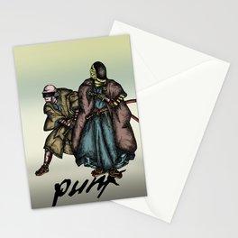Samurai Daft Punk Stationery Cards