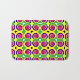 Swirly Pattern 1 Bath Mat