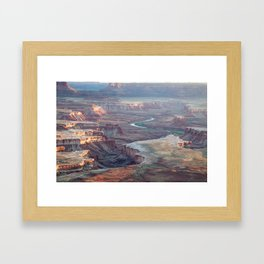 Island in the Sky  Framed Art Print