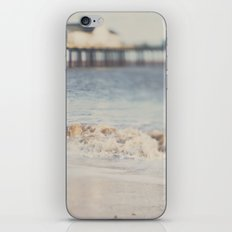 the waves running up against your feet ... iPhone & iPod Skin