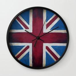 Union Jack Antique Wall Clock