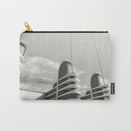 PAN PACIFIC AUDITORIUM BLACK AND WHITE Carry-All Pouch