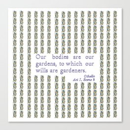 Othello quotation Canvas Print