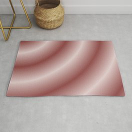 Circular Mystery in Pink Rug