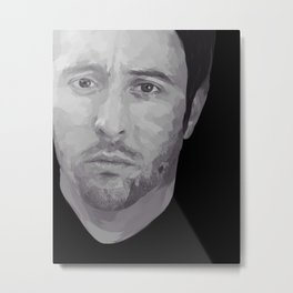 Alex O'Loughlin Metal Print