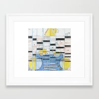 guitar Framed Art Prints featuring Guitar by Nimai VandenBos