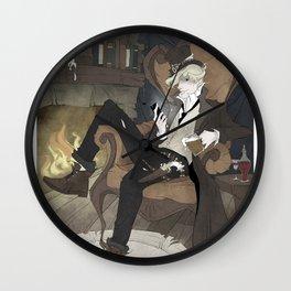 Johnny Knight Wall Clock