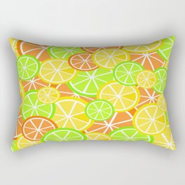 Fruit Slices Rectangular Pillow