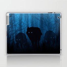 Wolf Pass: Cerulean Mist Laptop & iPad Skin