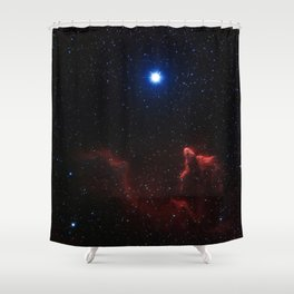 Gamma Cassiopeiae Shower Curtain