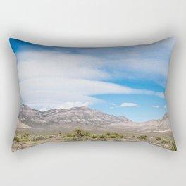 Red Rock Canyon Rectangular Pillow