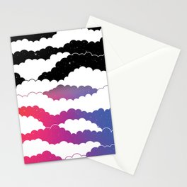 Midnight Glow Stationery Cards