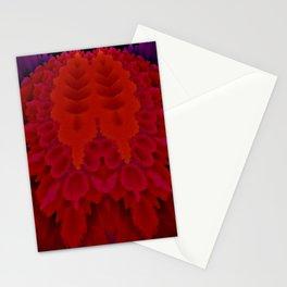 "Random 3D No. 75 ""Red brain"" Stationery Cards"