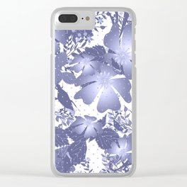 Gently lilac flowers. Clear iPhone Case