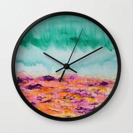 Bathwater Wall Clock