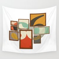 frames Wall Tapestries featuring S6 Tee - Frames by Josè Sala
