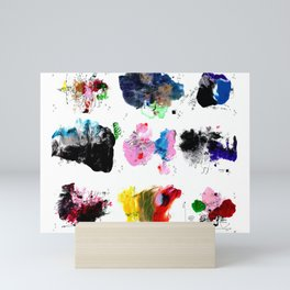 9 abstract rituals (2) Mini Art Print