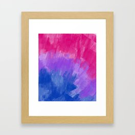 Bisexual Pattern (4) Framed Art Print