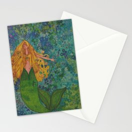 Mermaid Chill Stationery Cards