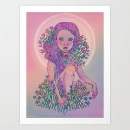 season for blooming  Art Print