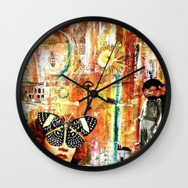 Patiently Waiting for you to Take Notice of my Advances Wall Clock