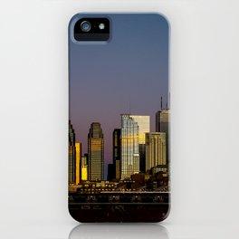 Skyline At Sunrise iPhone Case