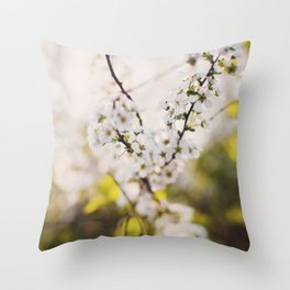 Flower Photography by Kien Do Throw Pillow