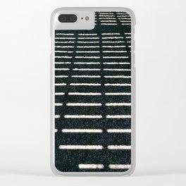 Geometrical shadows Clear iPhone Case