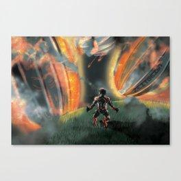 Fallen Sky Canvas Print