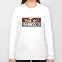 van Long Sleeve T-shirts featuring Van Damn Van by Arts and Herbs