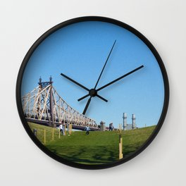 Tag Wall Clock
