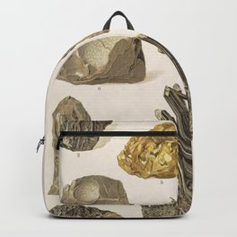 Vintage Gold Minerals Backpack