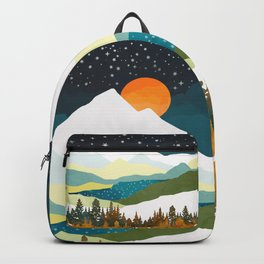 Winters Night Backpack