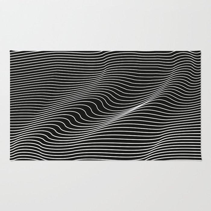 Minimal curves black Rug