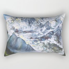 Jungfrau mountain. Swiss Alps Rectangular Pillow