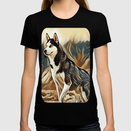 The Siberian Husky T-shirt