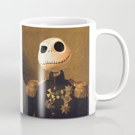 Jack Skellington General Portrait Painting | Fan Art Coffee Mug