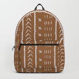 Reality Mustard Mud Cloth  Backpack