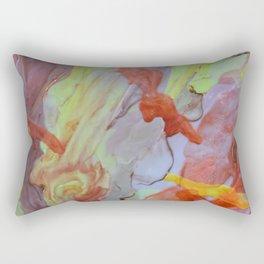 Brass Yellow Rectangular Pillow