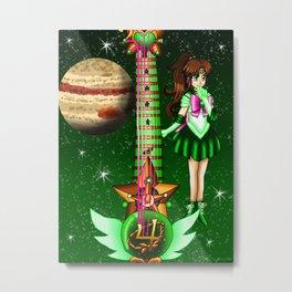 Sailor Moon Guitar #5 - Sailor Jupiter (Makoto Kino) Metal Print