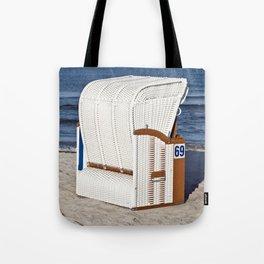 BEACH CHAIR No.69 - Baltic Sea - Isle Ruegen Tote Bag