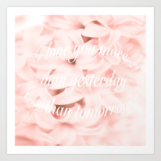 Be my Valentine... Art Print
