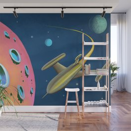 Fantastic Adventures in Outer Space Wall Mural